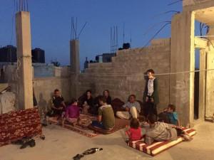 Iftar in Rafah