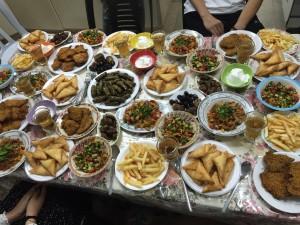 Iftar in Beit Hanoun