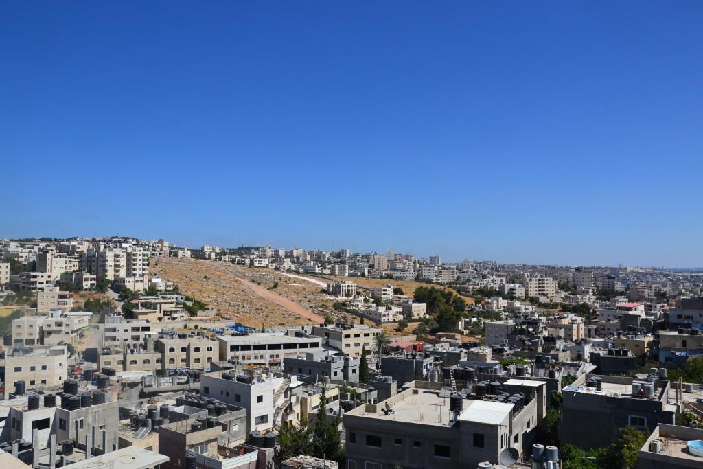 Vista dall'alto del Deishes Camp (Bethlehem)