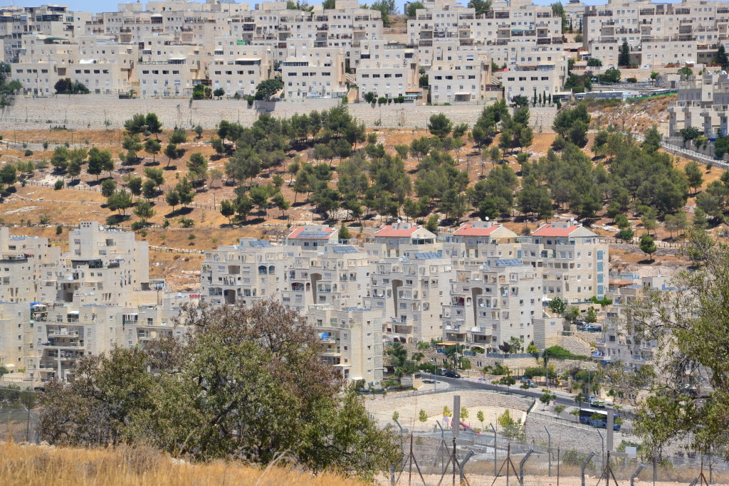 Colonia israeliana nei pressi di Betlemme